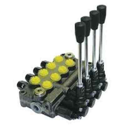 Prince Wolverine 4 Spool Hydraulic Valve Mb41bbbb5c1 8 Gpm 3500 Psi Sae Ports