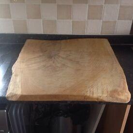 Solid oak board