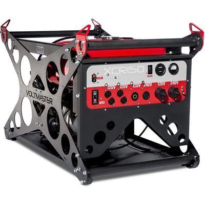 Voltmaster Xcr150eh - 12000 Watt Electric Start Professional Generator W Ho...