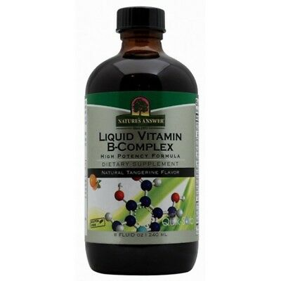 Nature`s Answer - Natural Vitamin B-Complex - 240ml Original from USA - UK Stock
