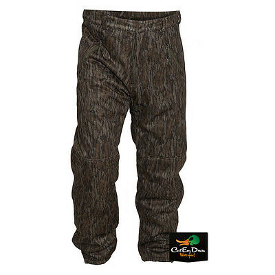 BANDED ATCHAFALAYA HUNTING PANTS WIND PROOF FLEECE LINED BOTTOMLAND CAMO SMALL