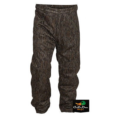 BANDED GEAR ATCHAFALAYA HUNTING PANTS WIND PROOF FLEECE LINED BOTTOMLAND CAMO XL