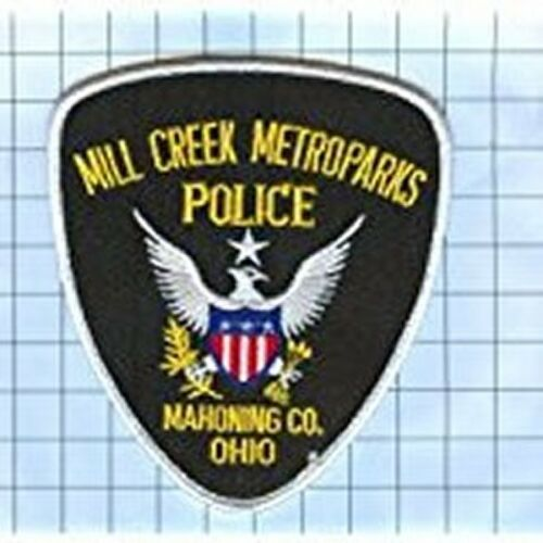 POLICE PATCH -  MILL CREEK METROPARKS MAHONING CO OHIO