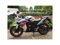 2011 Honda cbr250 mint bike low miles 955 motd £2450