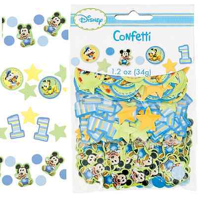Disney 1st Birthday Baby Mickey Mouse Party Decoration Confetti Table Sprinkles