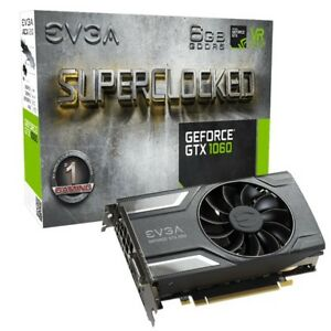 EVGA GTX 1060 6GB superclocked mini