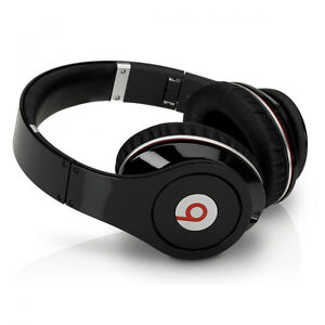 Monster Beats by Dr. Dre Studio Apple Over Ear Headphones BLACK