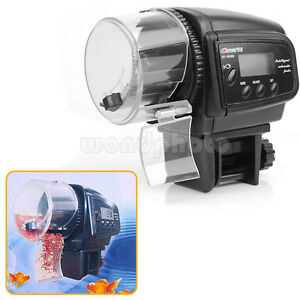 Automatic aquarium timer auto fish tank pond food feeder for Koi pond motors