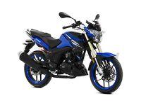 *Brand New* Lexmoto ZSX-R 125 Sports. (CBR) Warranty. Free Delivery. Main Dealer. Blue