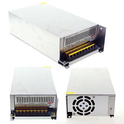 Ac To Dc 12v 50a 600w Transformer Power Supply Driver Switch For Led Strip Light