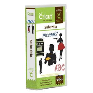 Cricut SUBURBIA cartridge - $45