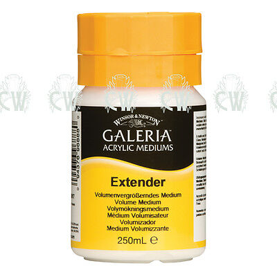 Winsor & Newton Galeria Extender For Acrylic 250ml. Artists Paint Medium