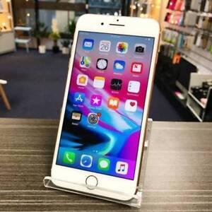 Mint condition iPhone 8 Plus Gold 256G AU MODEL INVOICE WARRANTY