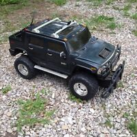 Rc hummer and caddy