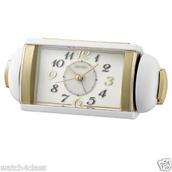 100% Seiko Super loud Bell Alarm Clock QHK047W volume control light snooze sweep