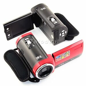 16MP 2.7'' LCD 720P HD Digital Camera Video Camcorder DV DVR 16x ZOOM AU Stock