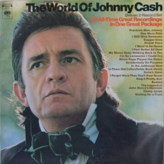 Vinyl LP Records: Johnny Cash North Plympton West Torrens Area Preview