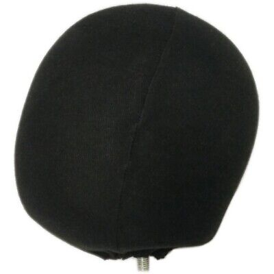 Mn-402head Black Female Fabric Egg Head Attachment For Mannequinsdress Forms