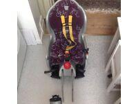 Hamax Sleepy rear bike seat for children