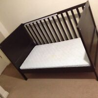 Mint condition, crib with mattress! OBO