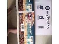 T20 finals day tickets X 2 west stand lower
