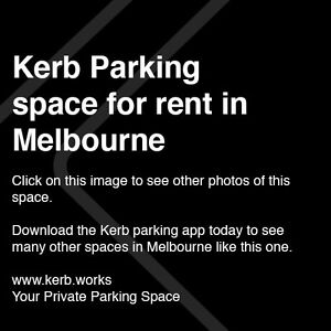 Kerb Parking Space - MELBOURNE $20/day Melbourne CBD Melbourne City Preview