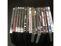 COLLECTION OF 16 EXTREME SPORTS ACTION DVDS