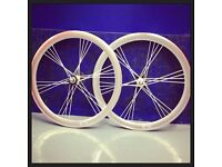 Bike wheel sets cool design ! 700c 24 spokes Sale
