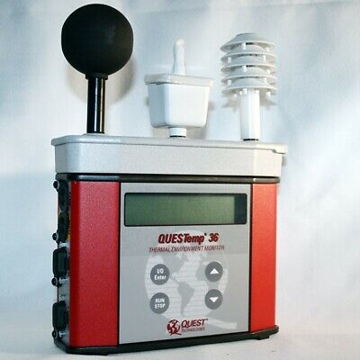 Used 3mquest Questemp 32 Intrinsically Safe Heat Stress Monitor