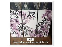 Monsoon Canvases x3
