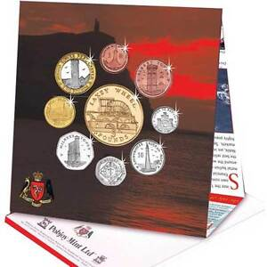 Isle of Man 2013 Decimal Coin Set