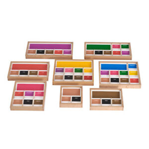 Complete set of Montessori Grammar boxes