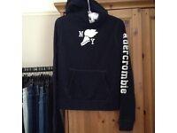 Abercrombie kids navy hoodie XL 6-8