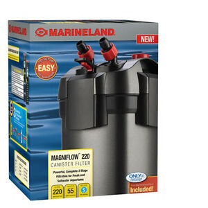 30g-50g Fish Tank Marine Canister Filter C220
