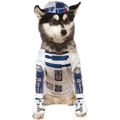 Disney Star Wars R2-D2 Robot Dog costume Size Small Halloween