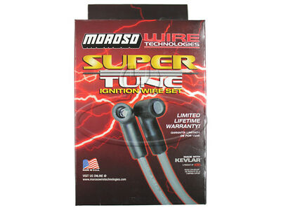 MADE IN USA Moroso Super-Tune Spark Plug Wires Custom Fit Ignition Wire Set 9153