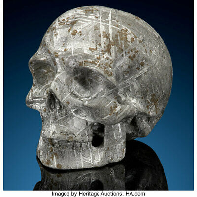 Gibeon Meteorite Skull Great Nama Land Namibia Found 1836 Iron IVA Outer-space