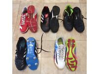 Size 5 bundle of football boots