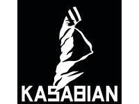 Kasabian Tickets Newcastle at the Metro Radio Arena Friday, 24 Nov 2017 X2