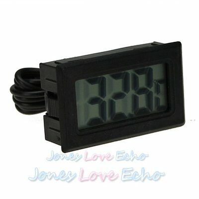 Mini Indoor Car Home LCD Digital Display Room Temperature Meter Thermometer US