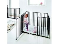 Babydan black playpen and playmat