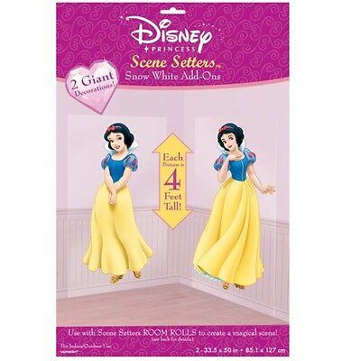 Snow White Disney Scene Setter Pack of 2 - Snow Scene Setter