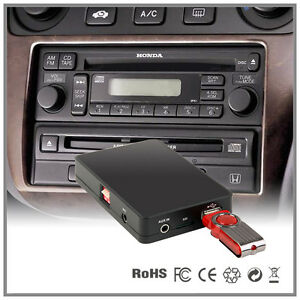 car stereo usb aux mp3 cd changer adapter honda civic crv. Black Bedroom Furniture Sets. Home Design Ideas