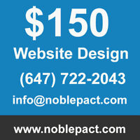 $150 Affordable website Design service | E-commerce Website