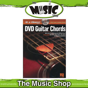 New-At-A-Glance-DVD-Guitar-Chords-Book-DVD-Pack
