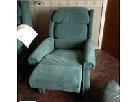 1 riser recliner armchair (2 available)