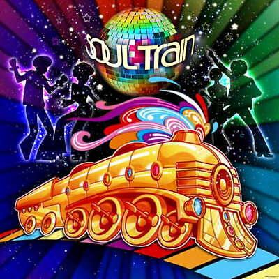 70s Backdrop (5x7ft 80's 70's music dance Disco DJ led soul Train party backdrop)