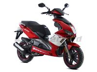 *Brand New* 66 Plate Lexmoto Diablo 125 Scooter.Warranty. Free Delivery. Main Dealer. 26-9