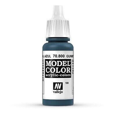 (17,35€/100 ml) Model Color 70.800 Blauer Stahl - Gunmetal Blue Vallejo 17ml