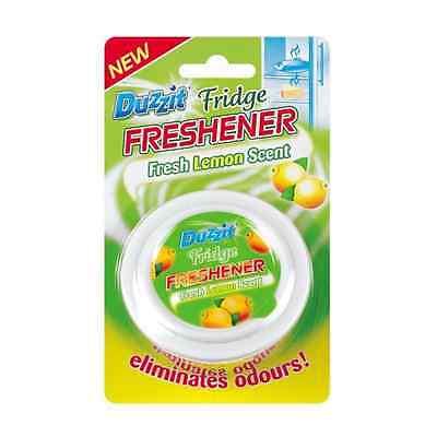 2x Duzzit Fridge Freshener Lemon Scent Eliminates Odours From Your Fridge New